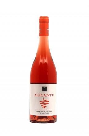 Calabria rosato IGT biologico Alicante di Cataldo Calabretta su Calabria Gourmet