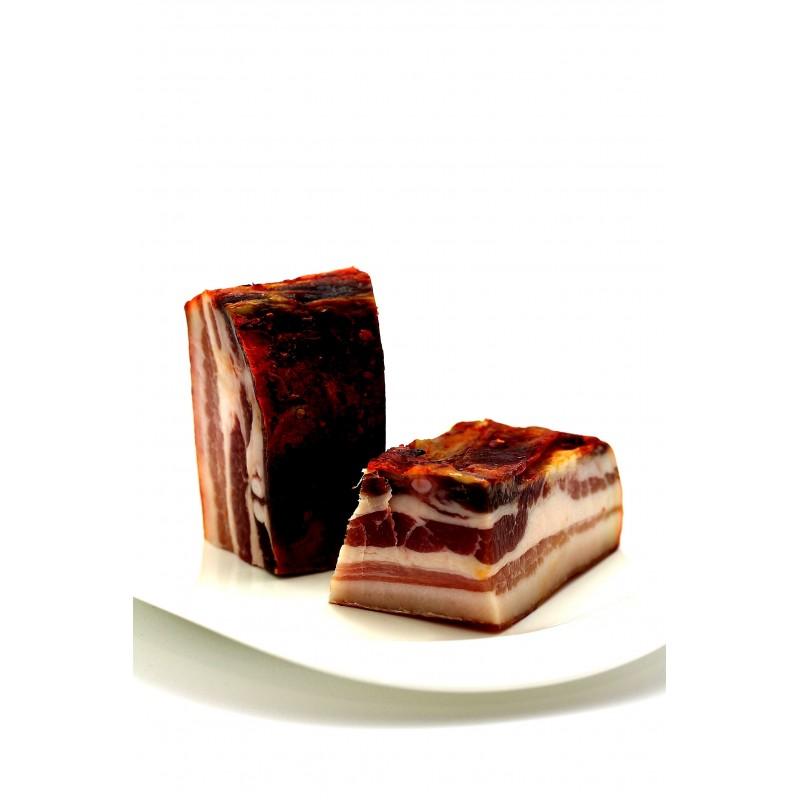 Pancetta tesa artigianale di maiale calabrese di Calabria Gourmet