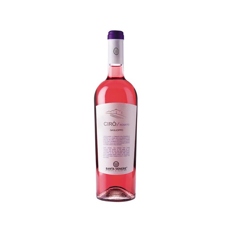 Cirò rosato DOC biologico di Santa Venere