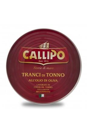 Tranci di tonno con olio di oliva in scatola di Callipo