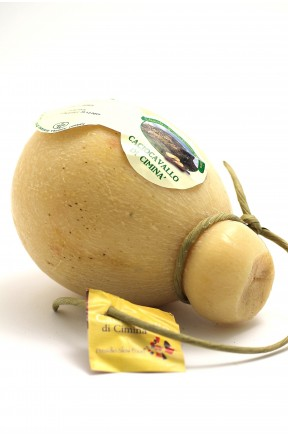 Caciocavallo di Ciminà stagionato presidio slow food di Siciliano