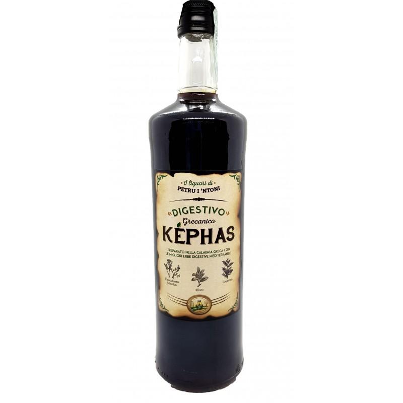 Amaro calabrese Kephas digestivo grecanico di Petru i Ntoni