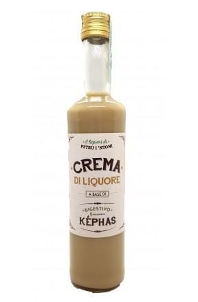 Crema di Liquore a base di Kephas di Petru i Ntoni