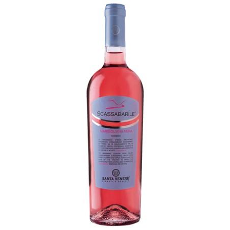Calabria rosato IGT biologico Scassabarile di Santa Venere