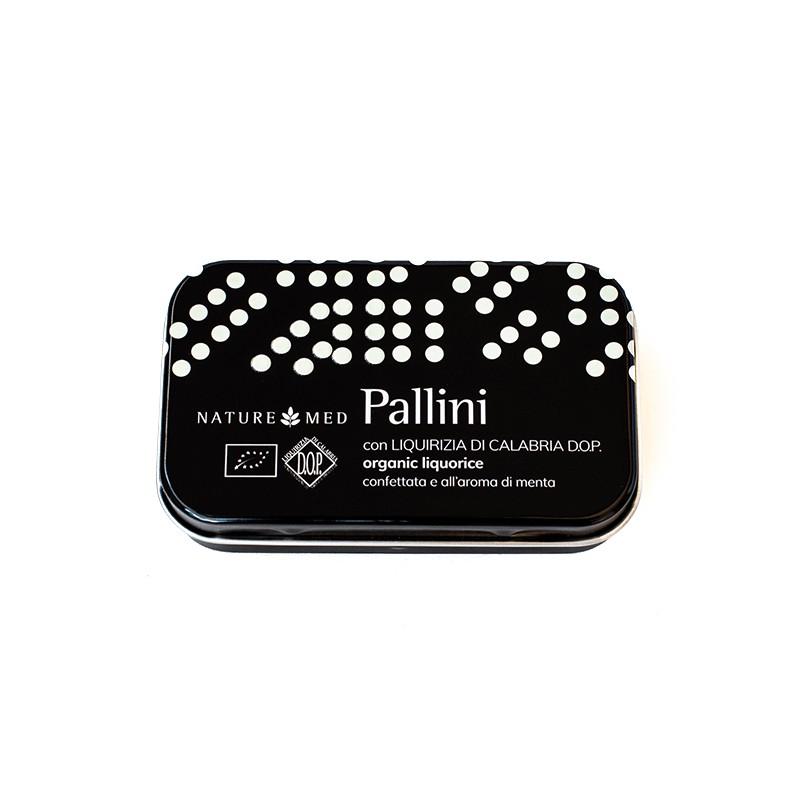 Liquirizia di Calabria DOP biologica pallini alla menta di Nature Med