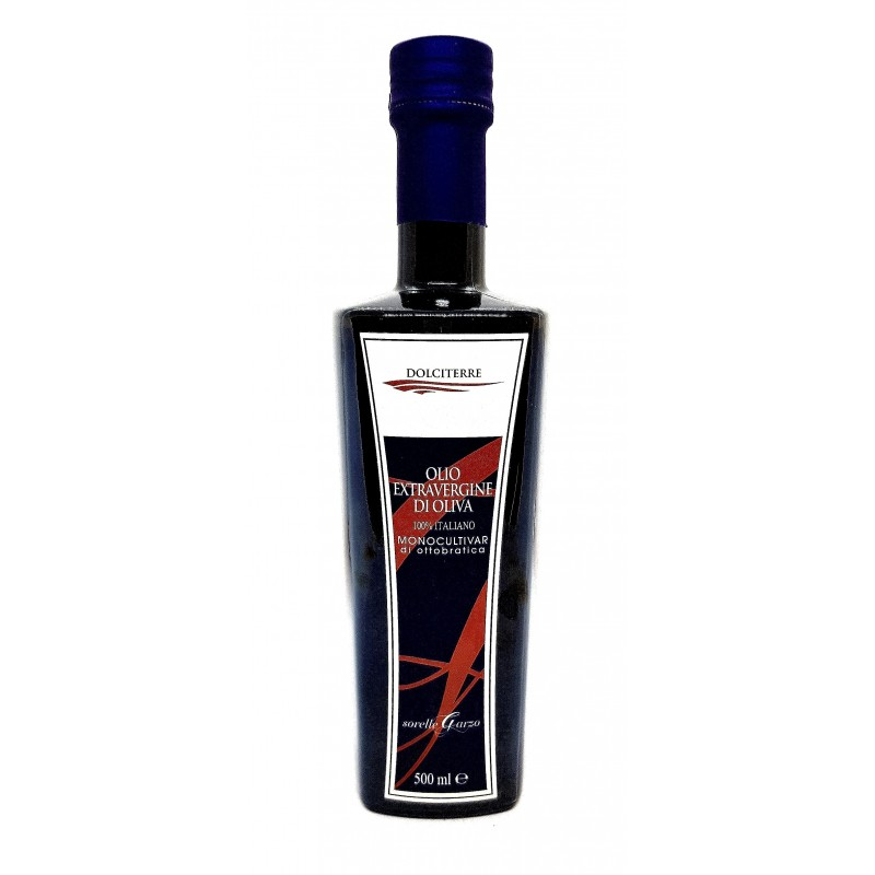 Olio extravergine di olive Dolciterre monocultivar di Sorelle Garzo