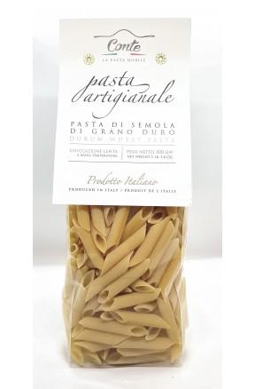 Pasta trafilata a bronzo Penne rigate di Pastificio Andrea Conte