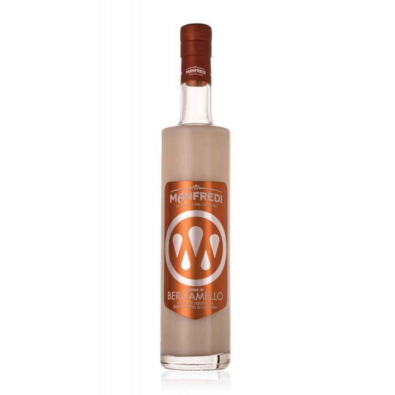 Crema di liquore al bergamotto Bergamello di Manfredi