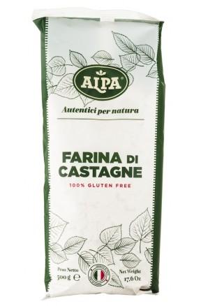 Farina di castagne senza glutine di Alpa Calabria