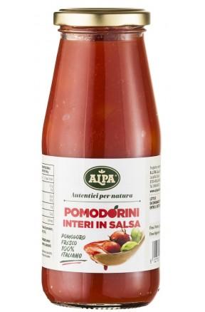 Pomodorini in salsa di Alpa