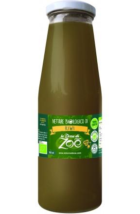 Succo di frutta calabrese biologico di kiwi di Le Terre di Zoè