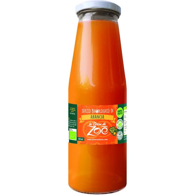 Succo di frutta calabrese biologico di arancia di Le Terre di Zoè