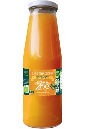 Succo di frutta calabrese biologico di clementine di Le Terre di Zoè