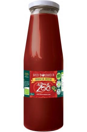 Succo di frutta calabrese biologico arancia rossa di Le Terre di Zoè