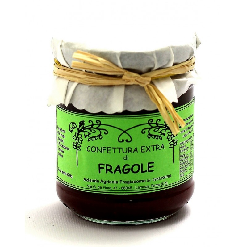 Confettura di fragole di Fragiacomo