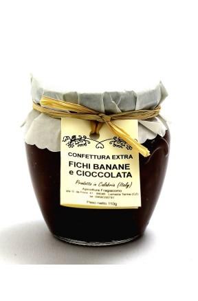 Confettura di fichi, banane e cioccolato di Fragiacomo