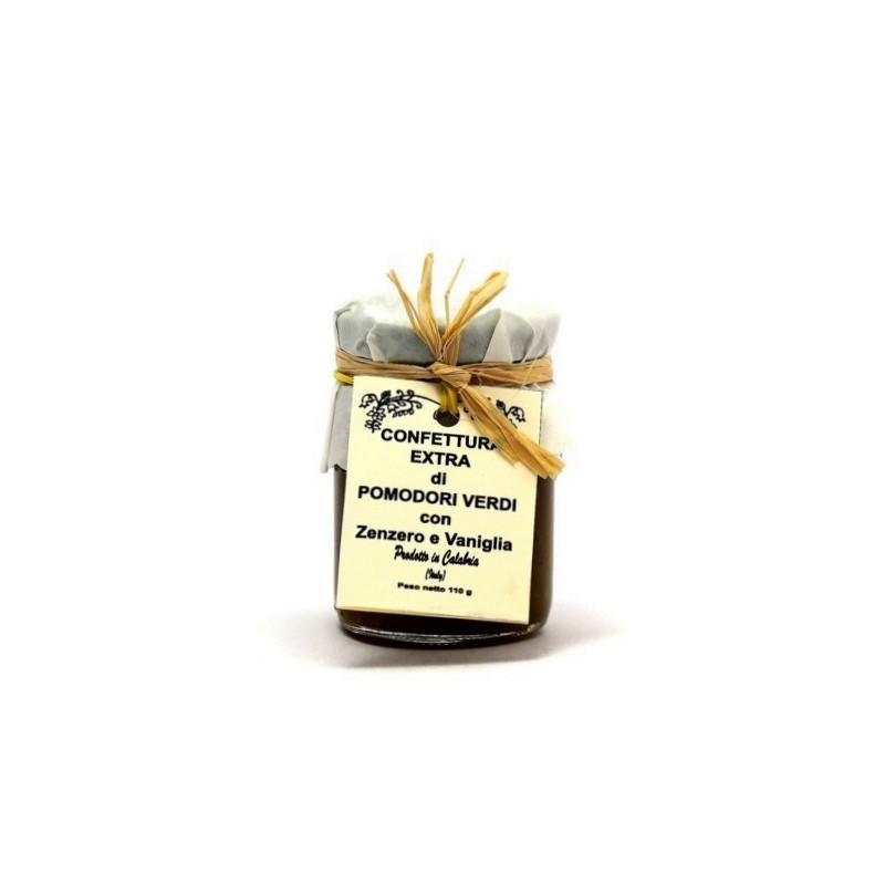 Confettura di pomodori verdi, zenzero e vaniglia di Fragiacomo