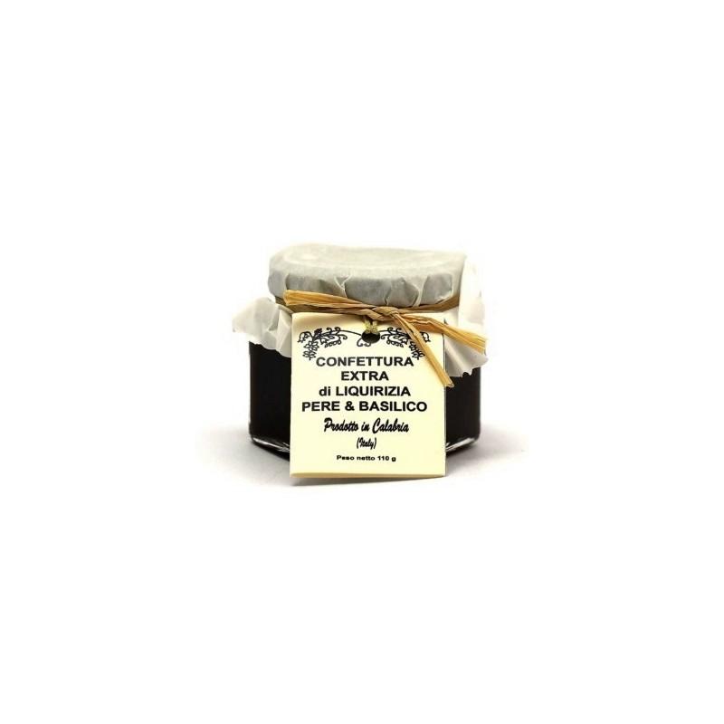 Confettura di pere, liquirizia e basilico di Fragiacomo