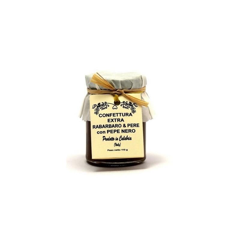 Confettura di pere, rabarbaro e pepe nero di Fragiacomo