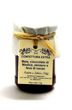 Confettura di mele, fave di cacao e zenzero di Fragiacomo