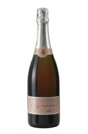 Vino spumante di qualità brut rosè Ferdinando 1938 di Statti