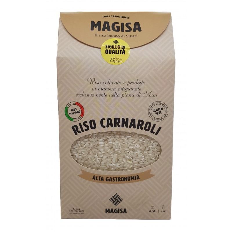 Riso calabrese di Sibari Carnaroli di Magisa su Calabria Gourmet