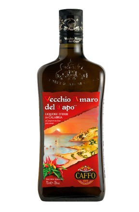 Amaro del Capo al peperoncino Red Hot Edition di Distilleria Caffo
