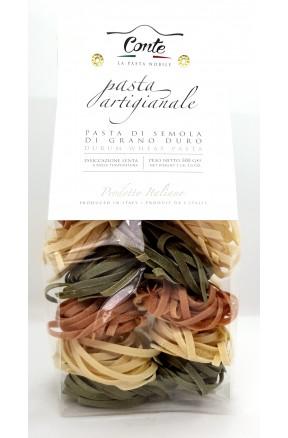 Pasta trafilata a bronzo Tagliatelle Fantasia di Andrea Conte