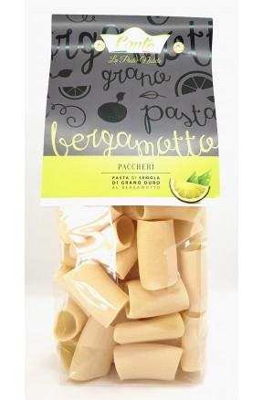 Pasta trafilata a bronzo Paccheri al bergamotto di Andrea Conte