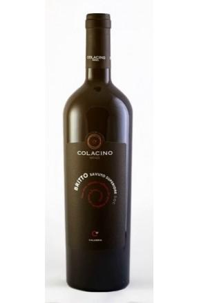 Savuto rosso superiore DOC Britto di Colacino su Calabria Gourmet