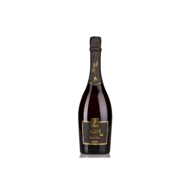 Vino Spumante di Qualità brut rosé bio Euké di Senatore Vini