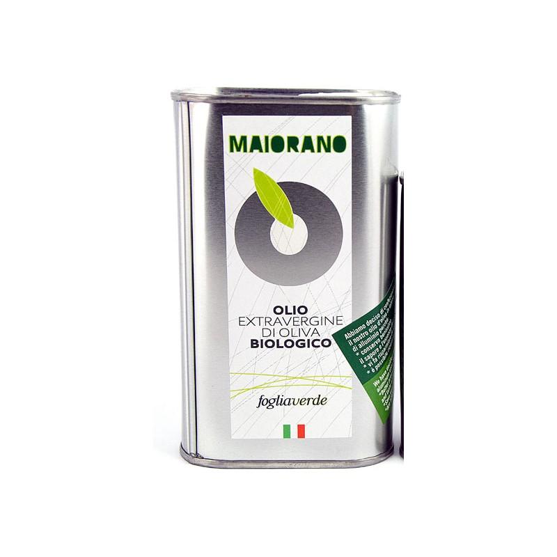 Olio extravergine da olive Foglia Verde 5 litri biologico di Maiorano