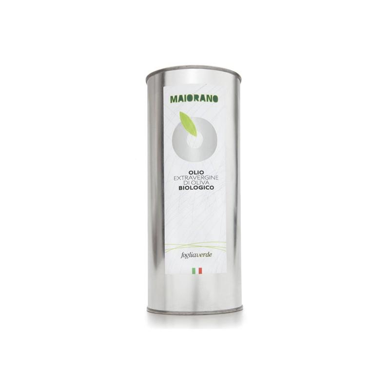 Olio extravergine da olive Foglia Verde 1lt bio di Maiorano