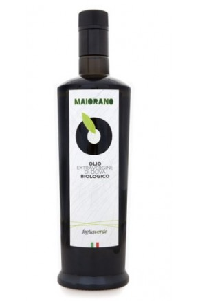 Olio extravergine da olive Foglia Verde 50 bio di Maiorano
