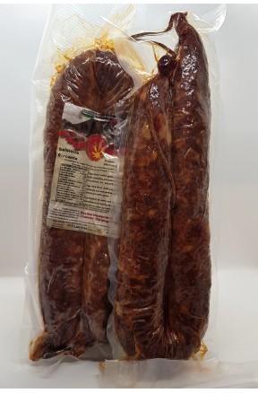 Salsiccia piccante calabrese di Spilinga di Bellantone
