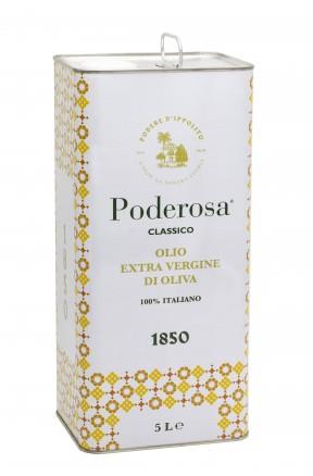 Olio extravergine da olive calabrese Poderosa 5lt di Podere d'Ippolito