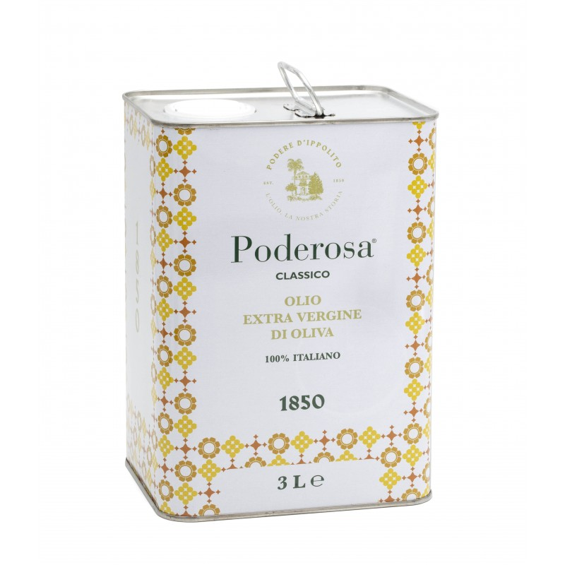 Olio extravergine da olive calabrese Poderosa 3lt di Podere d'Ippolito