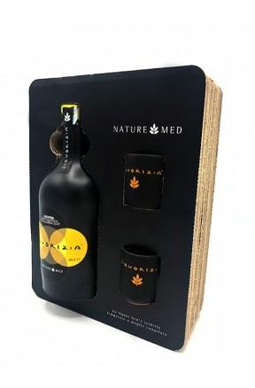 Liquore di liquirizia confezione 2 bicchieri di Nature Med