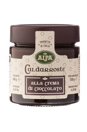 Caldarroste con crema di cioccolato di Alpa