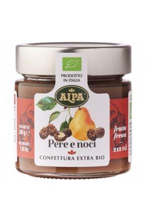 Confettura di pere e noci biologica di Alpa