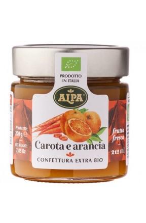 Confettura di carote e arancia biologica di Alpa