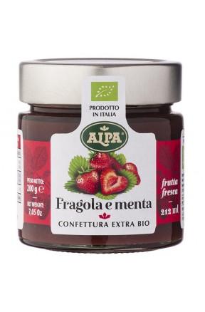 Confettura di fragole e menta biologica di Alpa