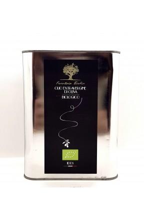 EVOO biologico latta 3 litri di Frantoio Badia