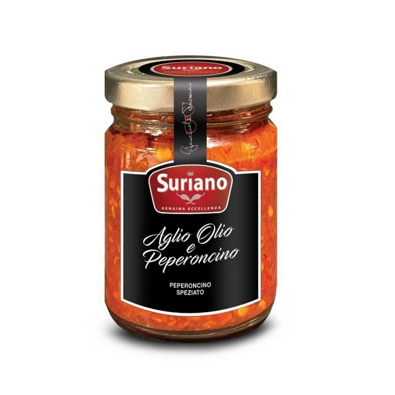 Preparato per pasta Aglio Olio e Peperoncino di Suriano Giancarlo