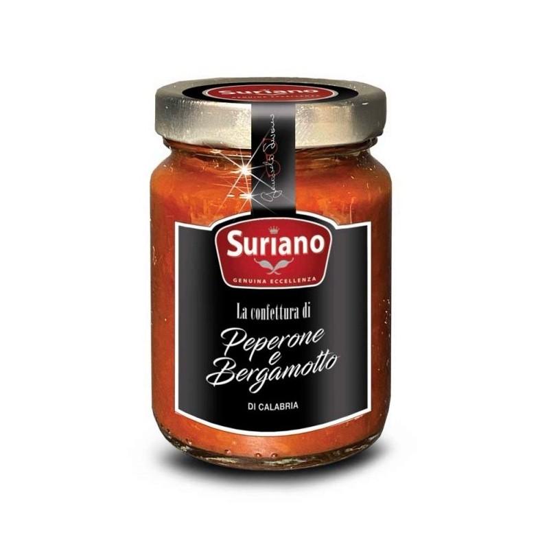 Confettura di peperone e bergamotto 106gr di Suriano Giancarlo