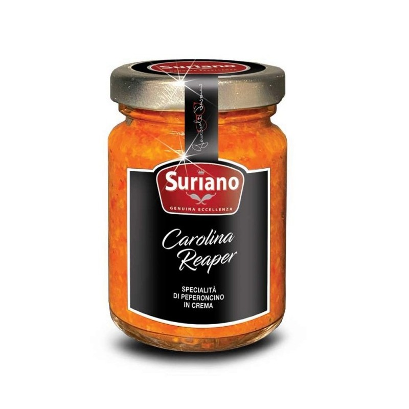 Crema di peperoncino Carolina Reaper di Suriano Giancarlo