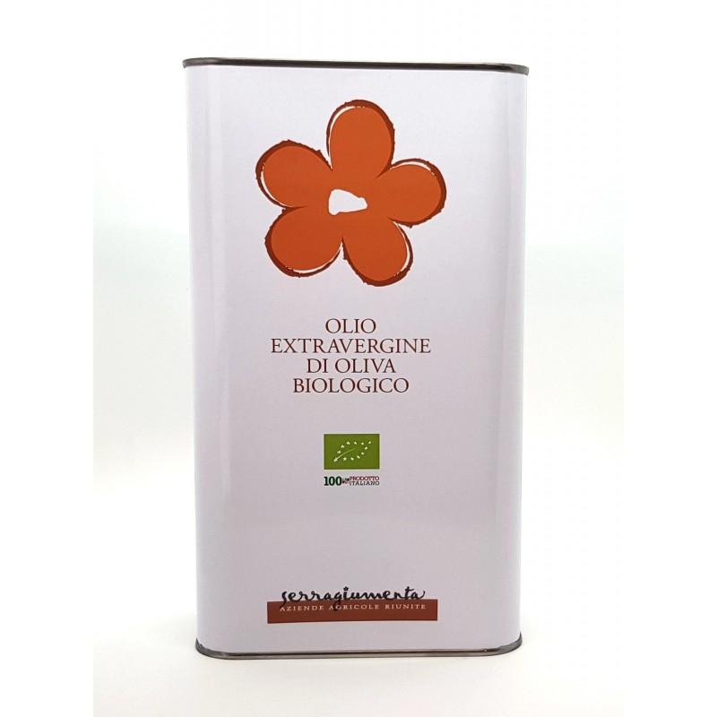 Olio extravergine da olive Castello biologico di Serragiumenta