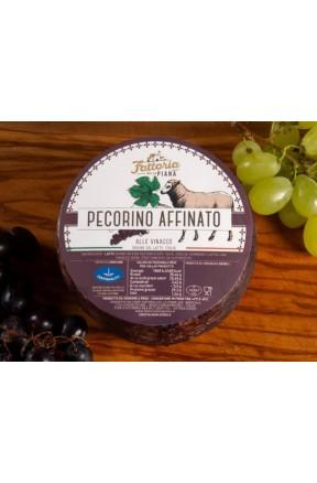 Pecorino calabrese affinato alle vinacce 1kg di Fattoria della Piana