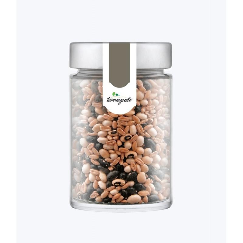 Misto legumi e cereali coltivati in Calabria di Terra e Gusto