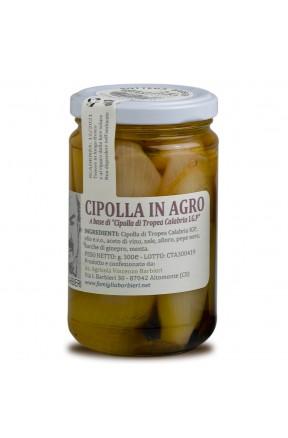 Cipolline di Tropea IGP in agrodolce di Bottega Barbieri Altomonte